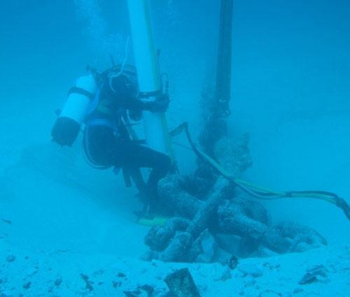Diver Dredging