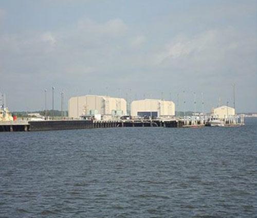 Explosive Handling Wharf